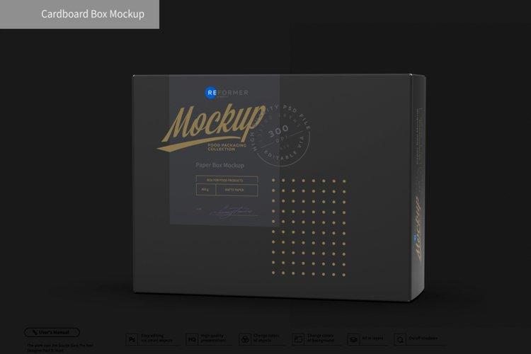 Cardboard Box Mockup example image 1