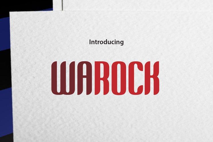 WAROCK example image 1