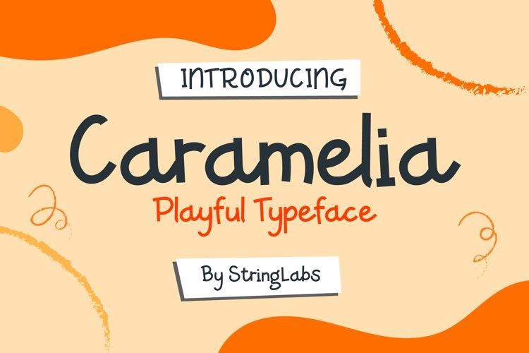 Caramelia - Playful Children Typeface example image 1