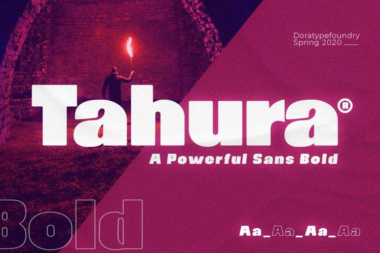 Tahura Typeface example image 1