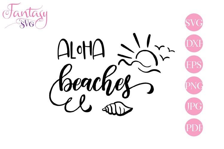 Aloha Beaches - SVG Cut File