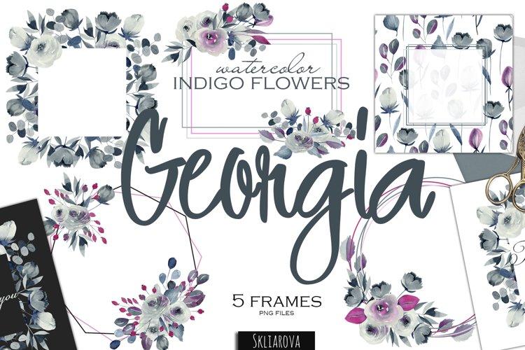 Georgia. Indigo 5 frames example image 1