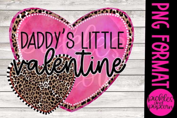 Daddys Little Valentine example image 1