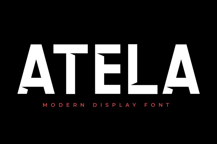 ATELA - Display Sans Serif example image 1