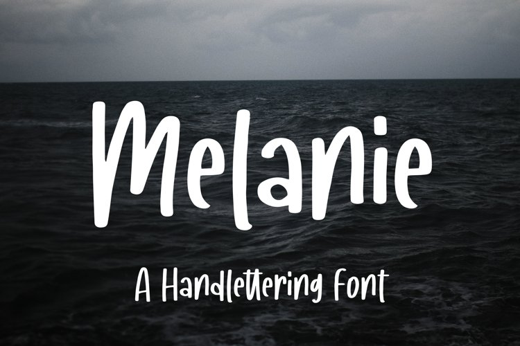Melanie - A Handlettering Font example image 1