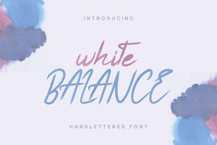 White Balance example image 1