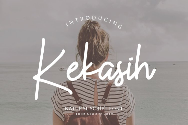 Kekasih - Shophisticated Signature Font example image 1