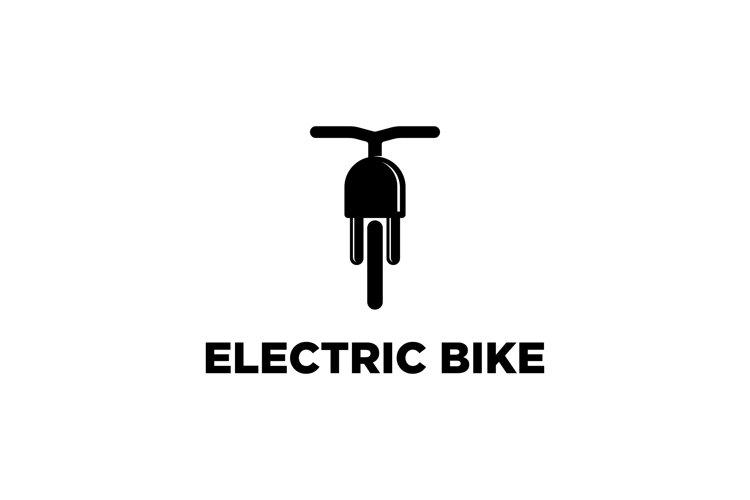 Electric Bike Logo Design Template example image 1
