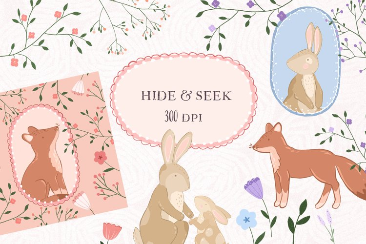 Hide and Seek - Graphic Collection