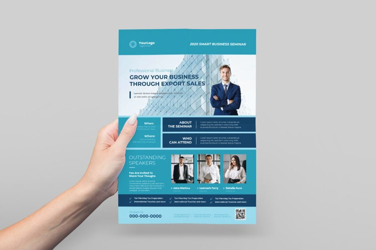 Business Event Flyer Design