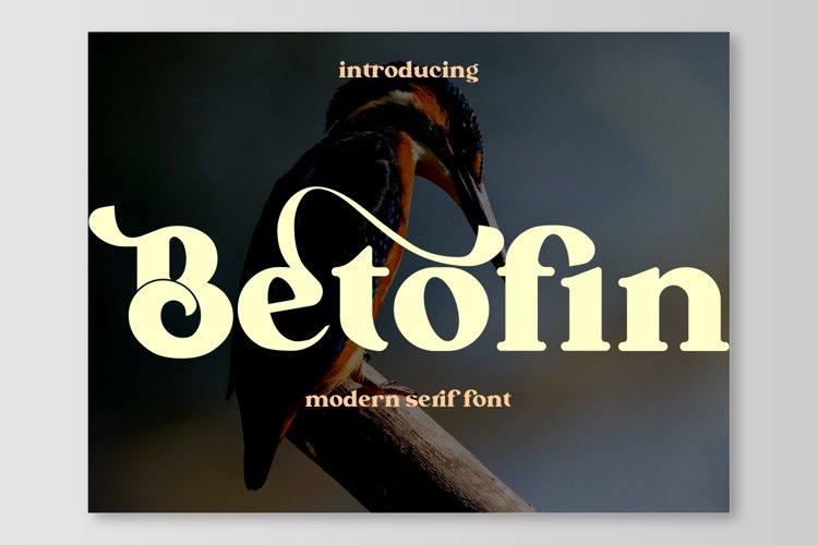 Betofin example image 1