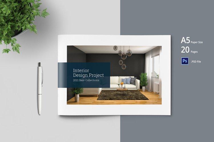 Interior Brochure Catalogs Template example image 1