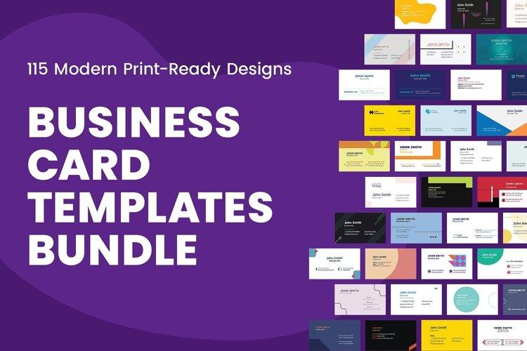 Business Card Templates Bundle SALE