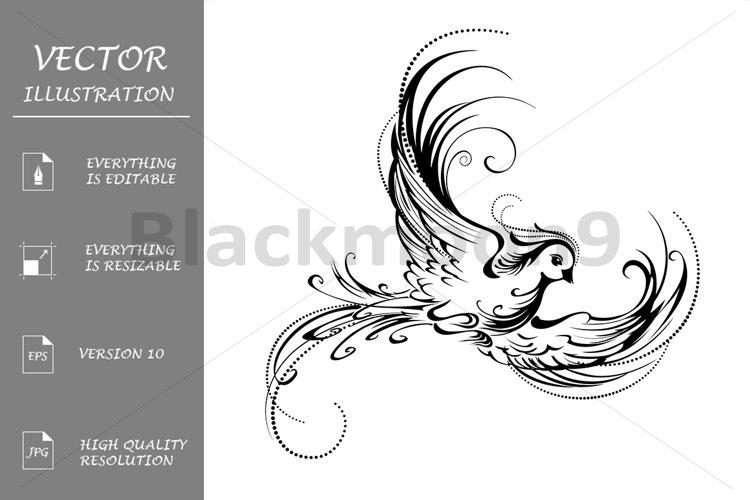 Stylized bird example image 1