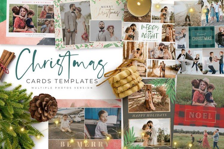 Christmas Card Multiple Photos