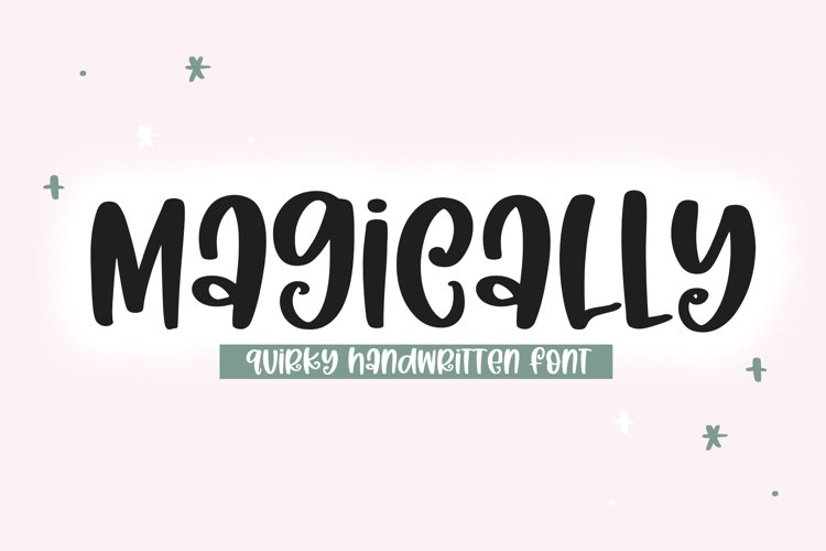 Magically - A Quirky Handwritten Font example image 1