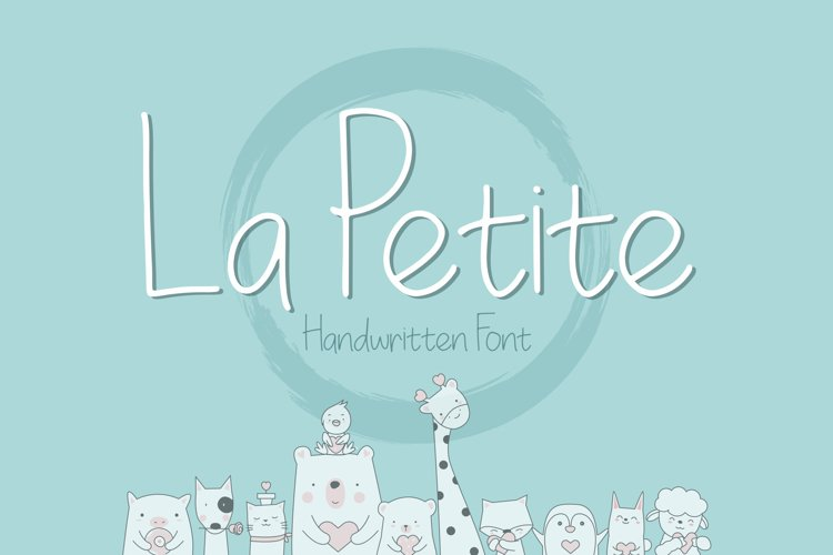 La Petite Handwritten Font example image 1
