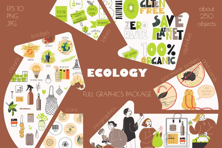ECOLOGY. FULL GRAPHICS PACKAGE
