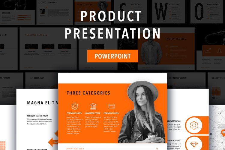 Sprint PowerPoint Template example image 1