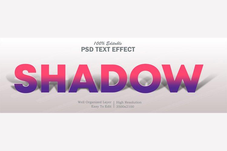 Shadow Editable PSD Text Effect