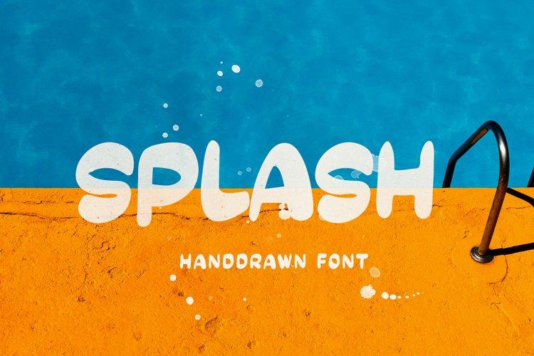 SPLASH - Handdrawn example image 1