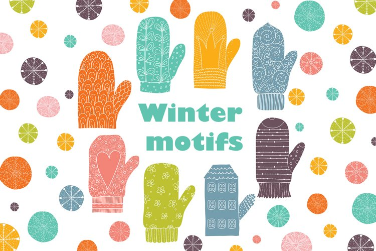 Winter motifs.