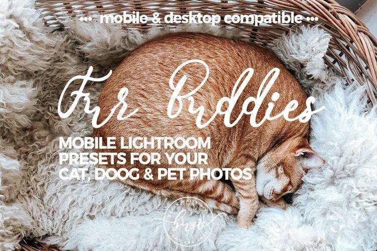 Fur Buddies - Cat, Dog & Pet MOBILE Lightroom Preset Bundle example image 1