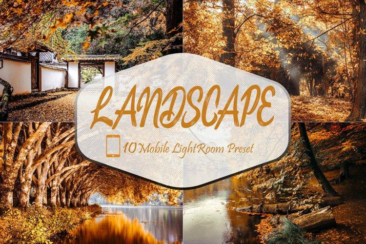 40 Mobile Lightroom Presets, Landscape Blogger Preset