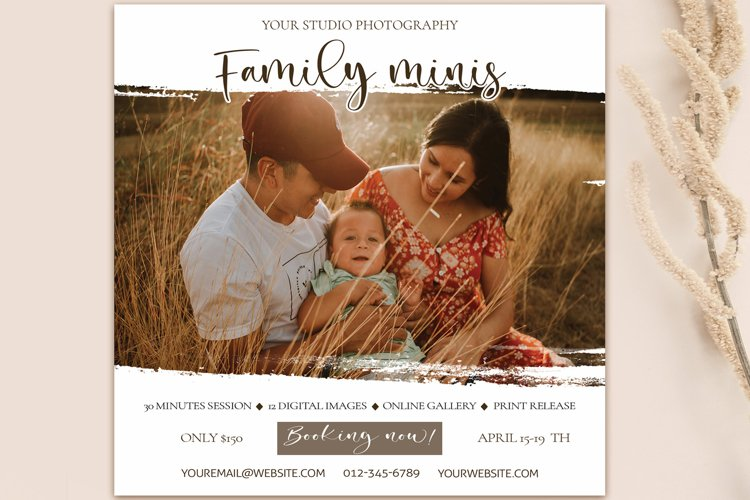 Family Photo session Template example image 1