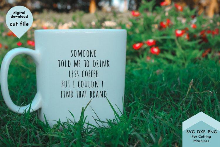 Funny Sarcastic Coffee Mug SVG