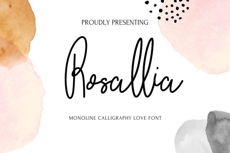 Rosallia example image 1
