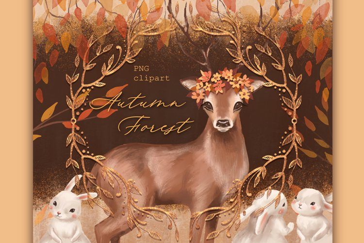 Autumn Forest clipart example image 1