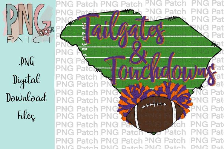South Carolina Football Background Orange and Purple, PNG example image 1