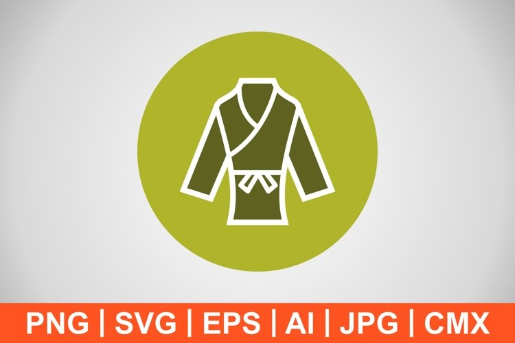 Vector Karate Icon example image 1