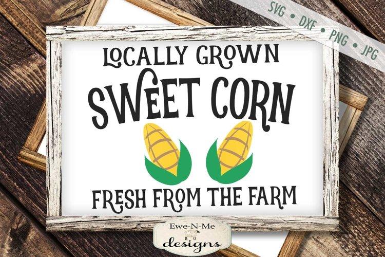 Sweet Corn | Farmhouse | Summer SVG example image 1