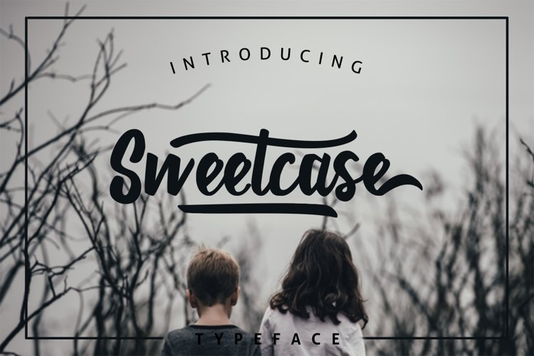 Sweetcase Typeface 30 OFF example image 1