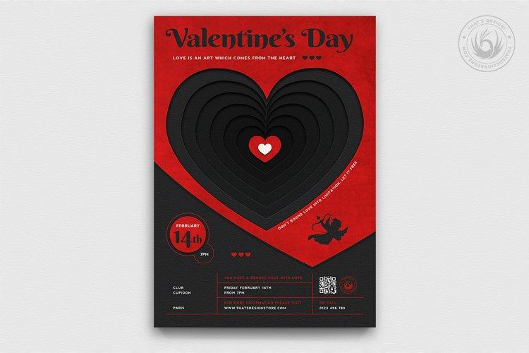 Valentines Day Flyer Template V23