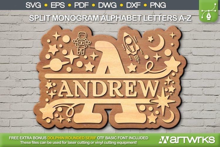 Download Split Monogram Svg Alphabet Svg Bonus Font By Artworks Svg 1107535 Cut Files Design Bundles