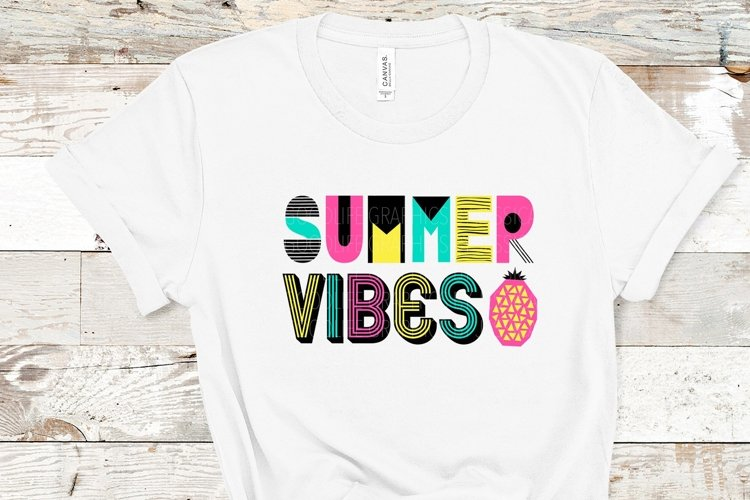 Summer vibes PNG example image 1