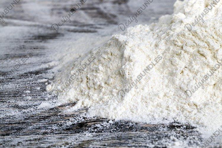 white wheat flour example image 1