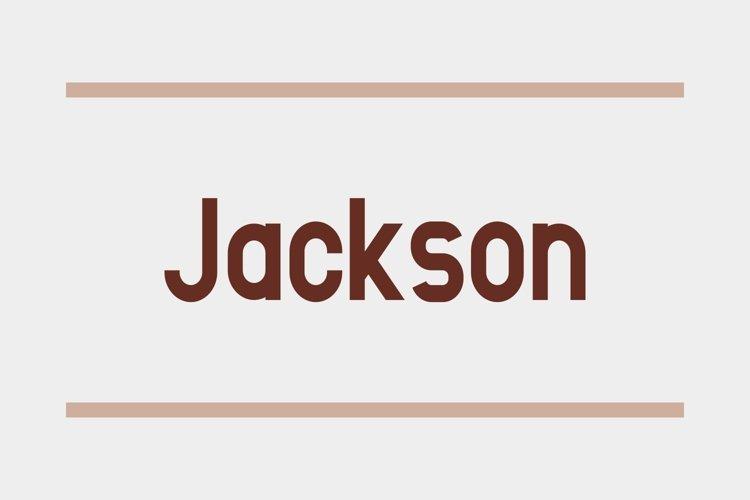 Jackson - 3 Styles Bundle example image 1