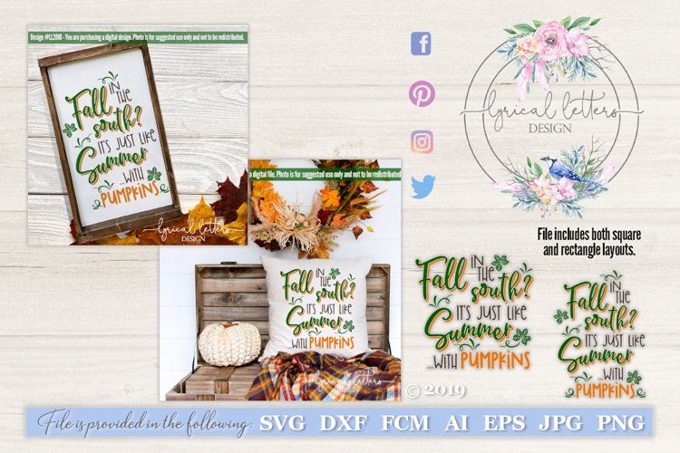 Fall In the South SVG LL281B