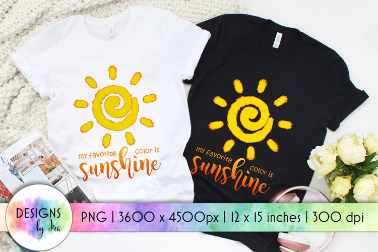 Sunshine Sublimation | Positive Quotes | Sunshine Quotes