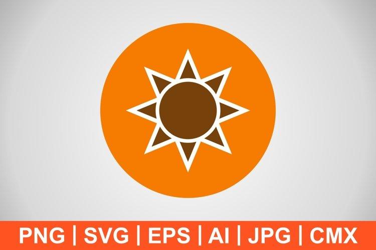 Vector Brightness Icon example image 1