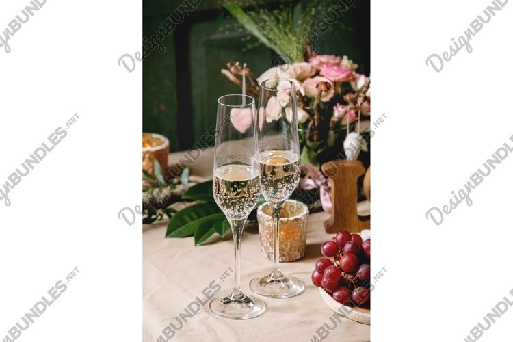 st. Valentines day table setting example image 1