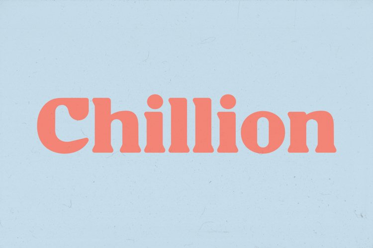 Chillion - Multipurpose Display Font example image 1