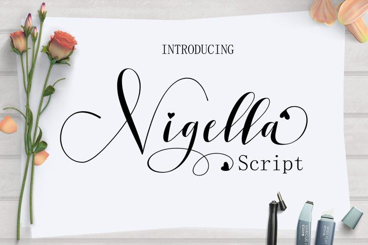 Nigella Script example image 1
