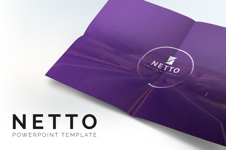 Netto Powerpoint Template example image 1