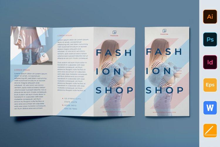Fashion Shop Brochure Trifold