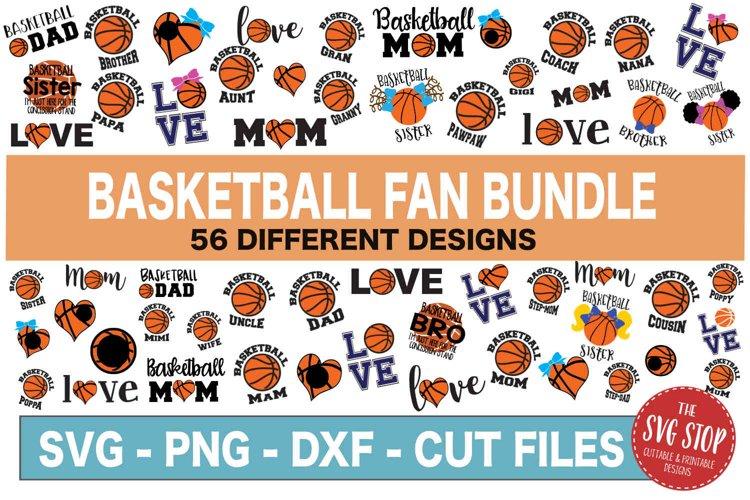 Basketball SVG Bundle -SVG, PNG, DXF